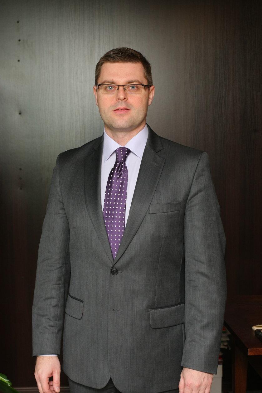 Jerzy Michalak (41 l.), wicemarszałek Dolnego Śląska