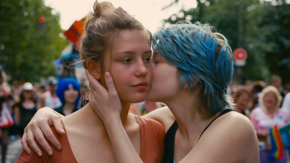 """Adèle i Emma, """"Życie Adeli – Rozdział 1 i 2"""", reż. Abdellatif Kechiche, 2013 r."""