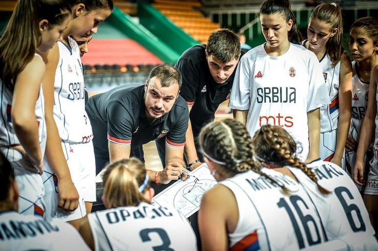 Ženska kadetska reprezentacija Srbije
