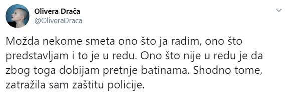 Olivera tvit