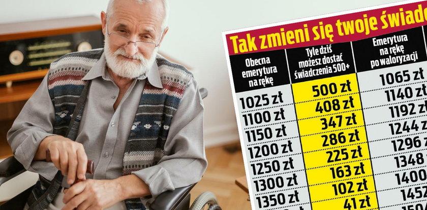 Seniorze, tak zmieni się twoje 500+. Zyskasz czy stracisz?