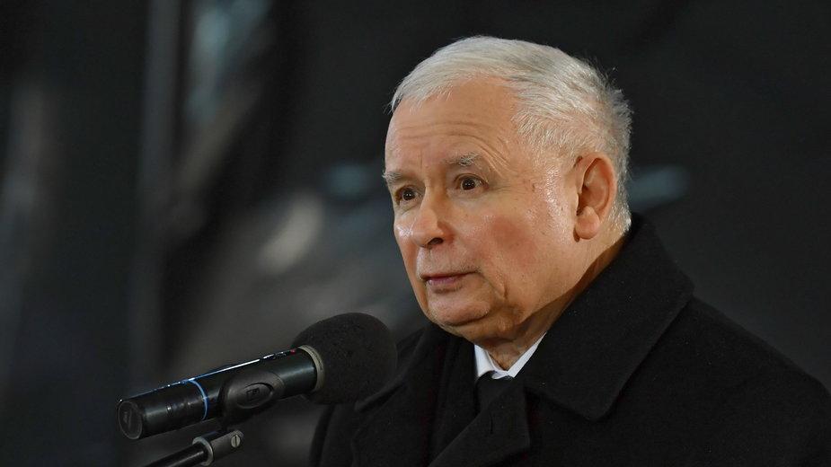 Wicepremier ds. bezpieczeństwa i prezes Prawa i Sprawiedliwości Jarosław Kaczyński