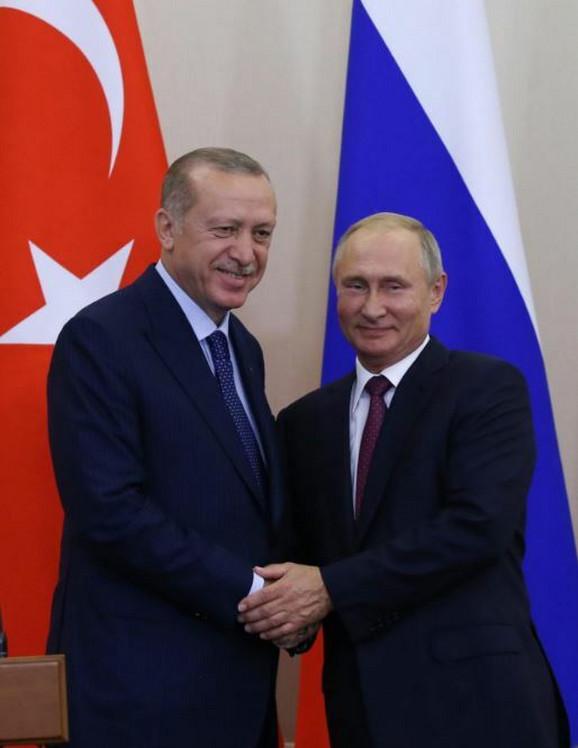 Erdogan i Putin dogovorili uspostavljanje koridora u Idlibu