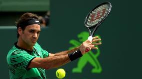 ATP w Miami: geniusz Roger Federer z trzecim wielkim tytułem w roku