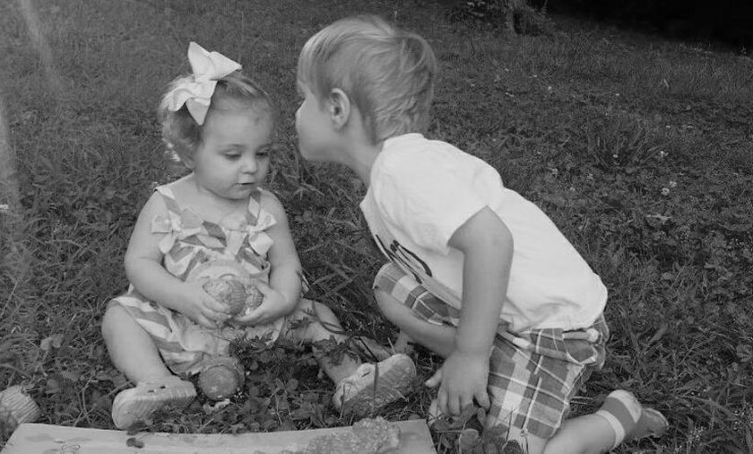 Lilly z bratem