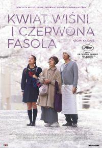 """Plakat filmu """"Kwiat wiśni i czerwona fasola"""""""