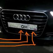 ZA SAMO 1,5 SEKUNDI: Pogledajte TRIK sa tablicama koji koristi RUSKA mafija kad beži! (VIDEO)