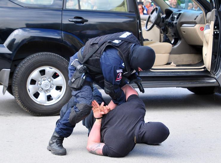 Policija hapsenje foto R Getel