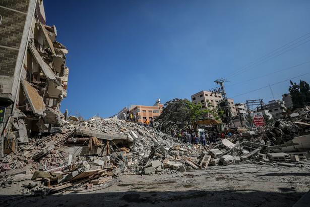 Zniszczenia w Strefie Gazy