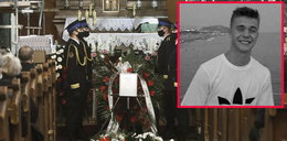 Pogrzeb Macieja Aleksiuka. Słowa matki rozdzierają serce...