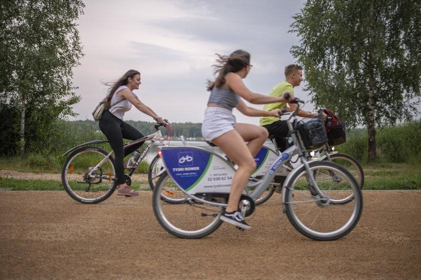 Katowice. Rowerem miejskim dojedziemy z Katowic do Pszczyny