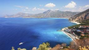 Oludeniz - jedna z najpiękniejszych plaż Turcji