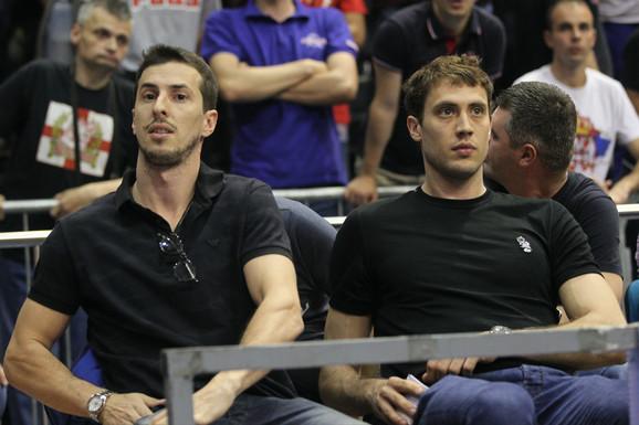 Miloš Nikić i Aleksandar Atanasijević