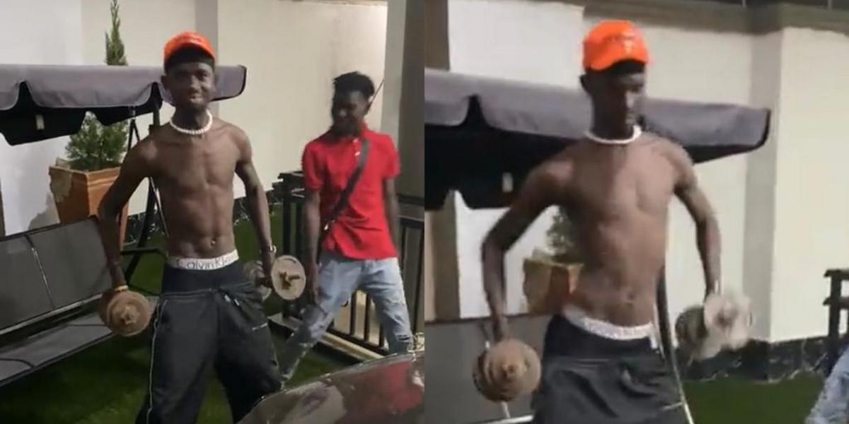 'Yaa Pono recorded my first track  'Cry For Me' - Black Sherif shares success story
