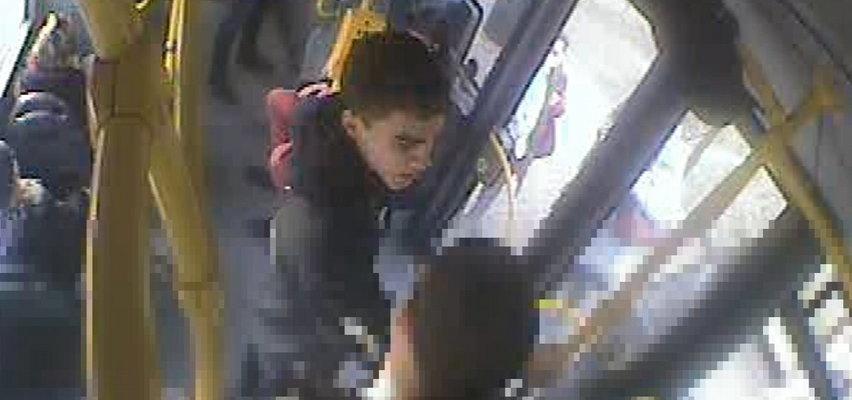 Brutalne pobicie w autobusie. Powód szokuje! Policja szuka tego mężczyzny