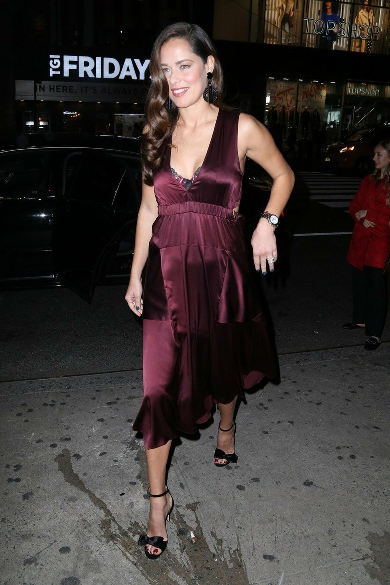 Ana Ivanović 2017. u Njujorku