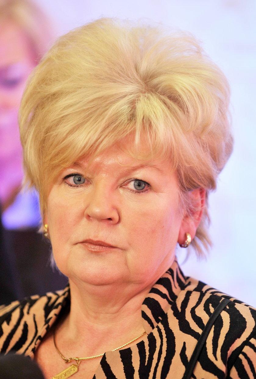 Jolanta Kręcka, dyrektor łódzkiego NFZ