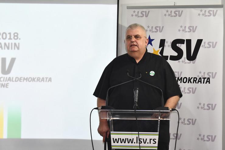 Nenad Čanak ponovo izabran za predsednika LSV