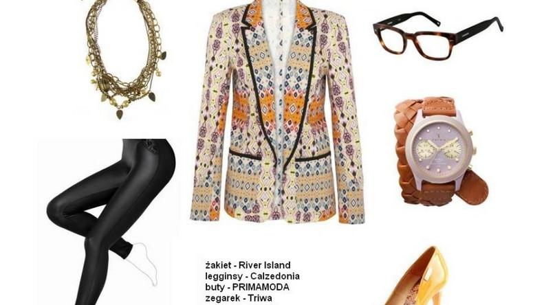 Modne stylizacje na wiosnę 2012