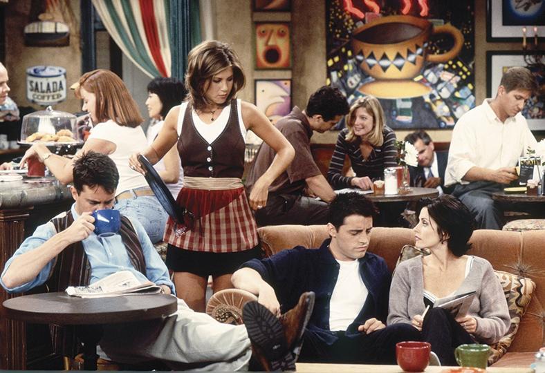 Rachel umawia się z przyjaciółmi