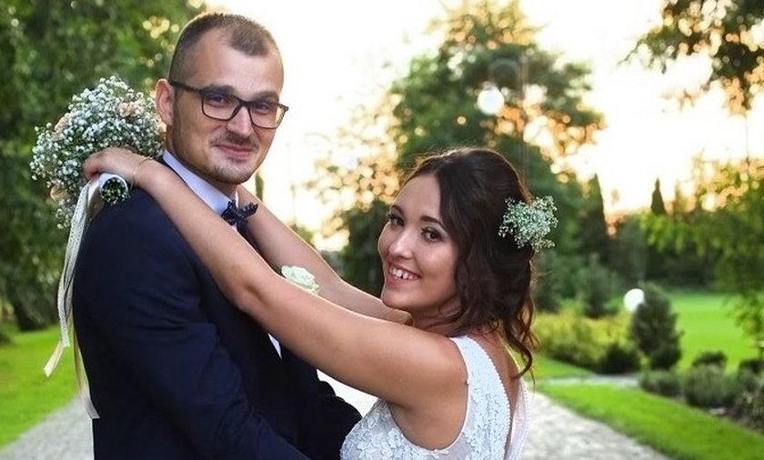 """Maciej i Laura ze """"Ślubu od pierwszego wejrzenia""""."""