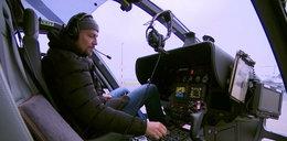 Ibisz został pilotem śmigłowca. Wyląduje na dachu Polsatu