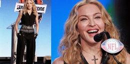 Męska Madonna (prawie) bez makijażu