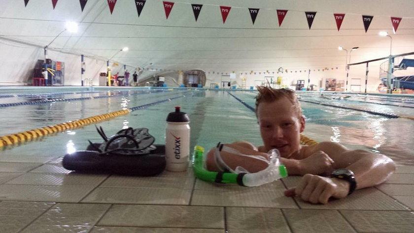 Triathlonista z Polski uratował dziecko!