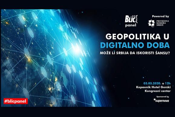"""""""BLIC PANEL"""" ŠTA NAM DONOSI DIGITALNO DOBA Eminentni stručnjaci iz zemlje i sveta govoriće na KOPAONIKU 3. marta o gorućoj temi iz oblasti geopolitike"""