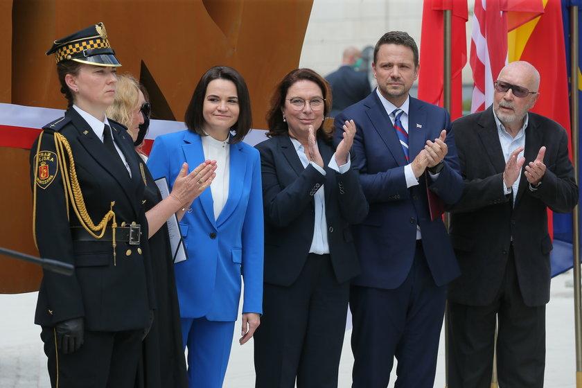 Liderka białoruskiej opozycji Swiatłana Cichanouska będzie gościem Campusu Polska  - wydarzenia organizowanego przez Rafała Trzaskowskiego,.