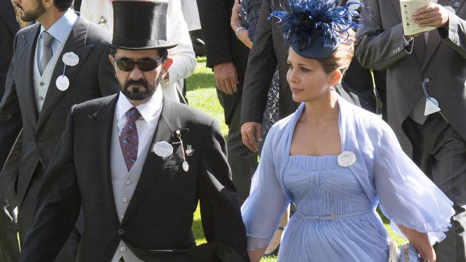 Księżniczka Haya z byłym mężem
