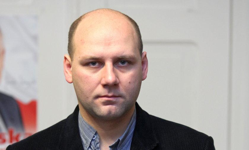 Radny Szymon Szynkowski z Poznania.