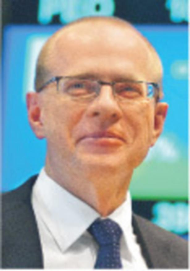 Ludwik Sobolewski, prezes GPW Fot. Artur Chmielewski