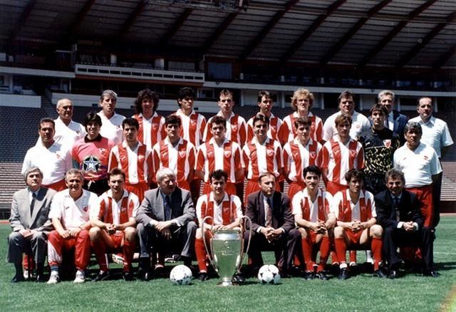 FK Crvena zvezda, ekipa iz 1991. godine