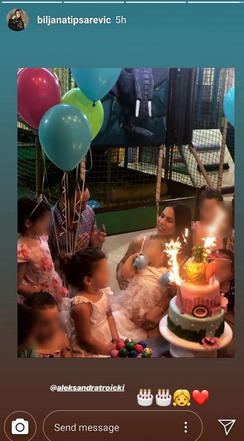 Troicki proslavio ćerki rođendan: Mezimica je morala sve da ima, a evo šta su Tipsarevići uradili usred proslave! FOTO