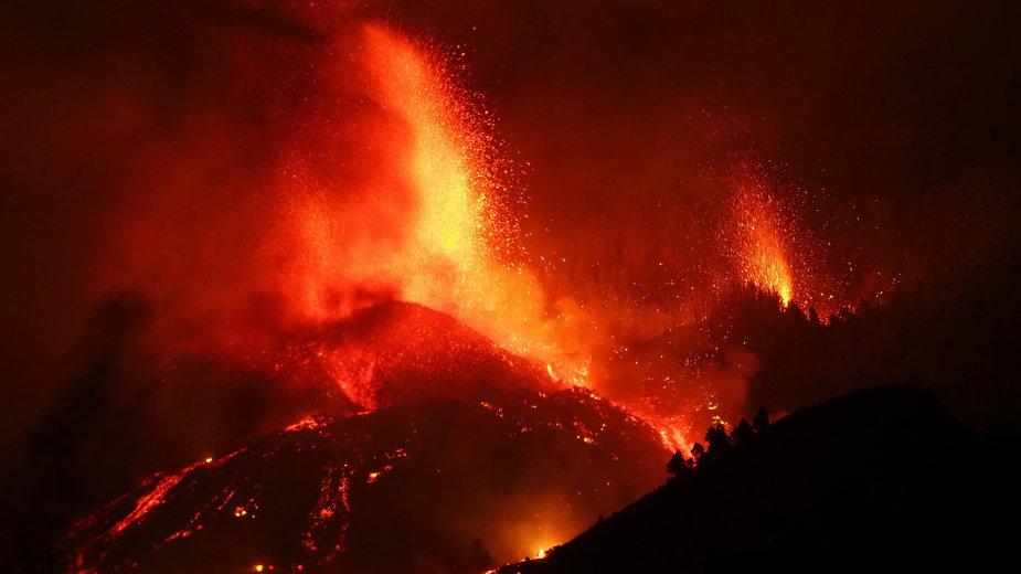 Trwa erupcja wulkanu na Wyspach Kanaryjskich
