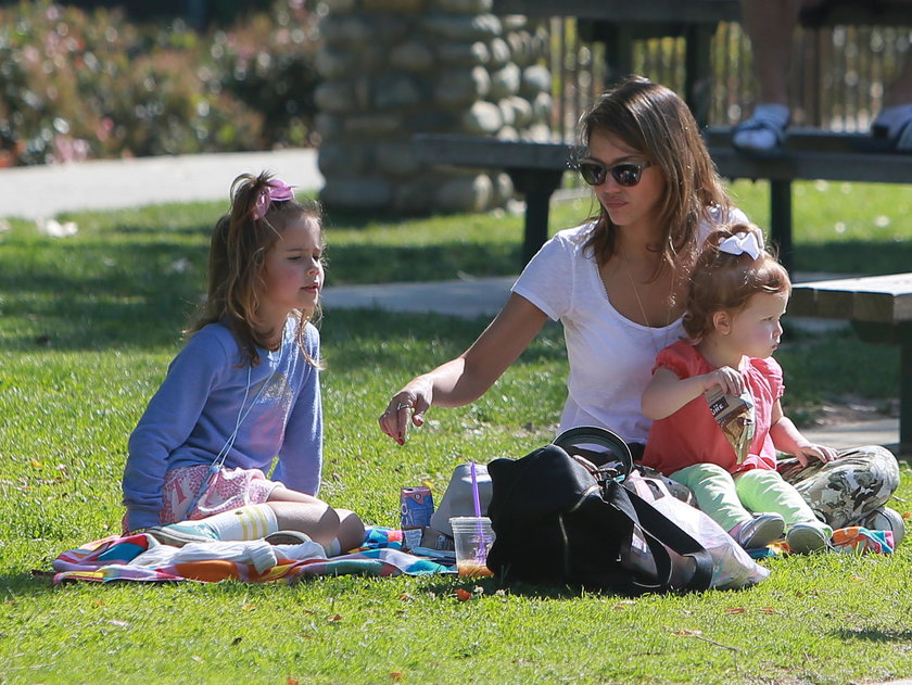 Jessica Alba z córką