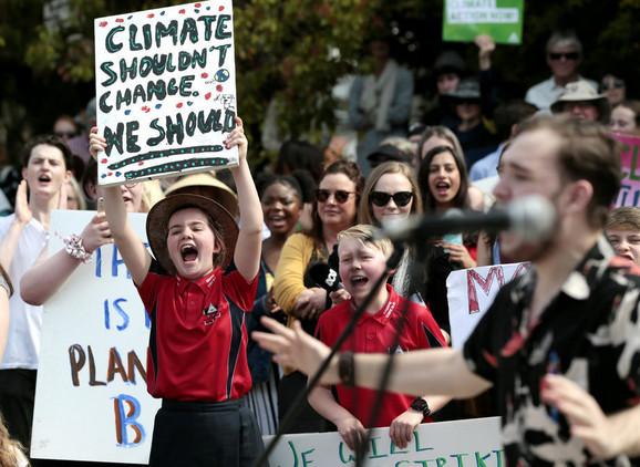 Protest protiv klimatskih promena u Australiji