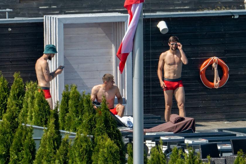 Polscy piłkarze się relaksują