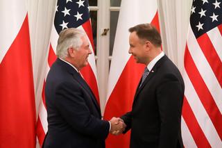 Łapiński zdradza szczegóły rozmowy Dudy z Tillersonem