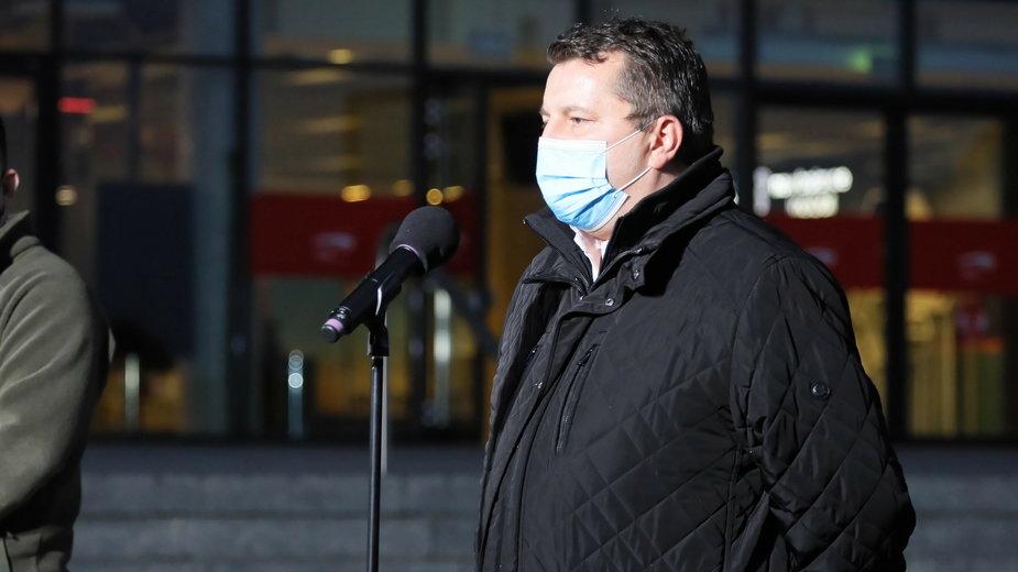 Dr Artur Zaczyński pokieruje szpitalem na Stadionie Narodowym