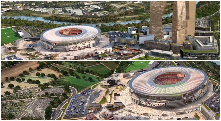 Fudbal - razno, Stadion Rome