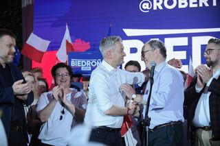 Biedroń: Jestem gotów do rozmów z osobą, która na opozycji otrzyma najlepszy wynik. Lewica 'przekaże' głosy Trzaskowskiemu?