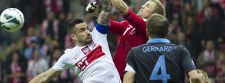 Angielscy piłkarze: w Polsce nikt nie wygra