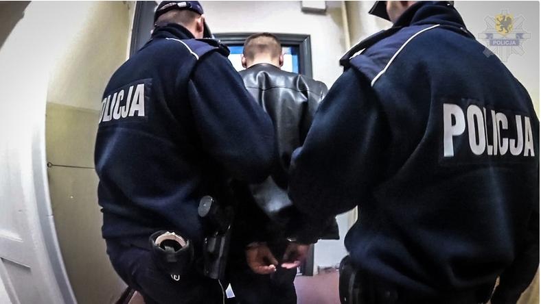 Jeden z zatrzymanych przez gdańską policję mężczyzn