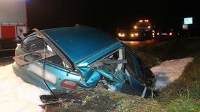 Groźny wypadek pod Olszową