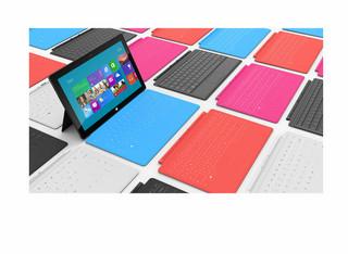 Surface - nowy tablet Microsoftu. Komputerowy gigant rzuca wyzwanie Apple'owi