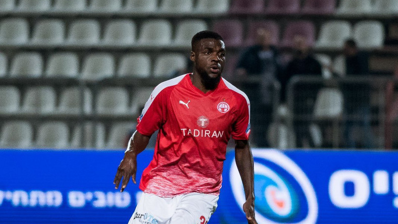 John Ogu has decided to leave Israel side Hapoel Beer Sheva  (Twitter/John Ogu)