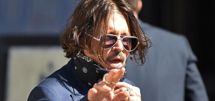 Johnny Depp broni się w polskich mediach: zarzuty o znęcanie się fizyczne i psychiczne są zaplanowanym oszustwem