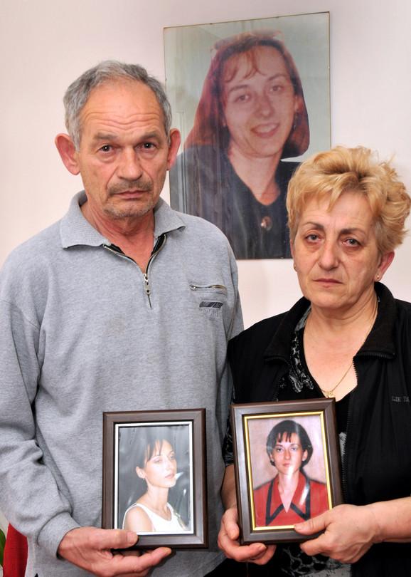 Radica i Miloje Ilić roditelji stradale trudnice Ljiljane Spasić